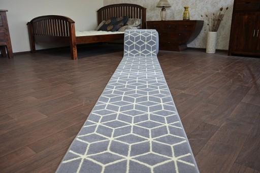 Dywany łuszczów Chodnik Base 80 Cm Cube Q2540