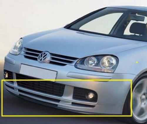 Vw Golf Mk5 R32 Gti Dokladka Zderzaka Przod Lodz Allegro Pl