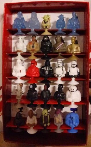 Stikeez Star Wars Kolekcja Lidl 25 Figurek Album 7483117974 Allegro Pl