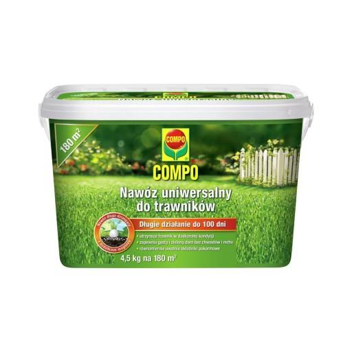Compo Nawoz Uniwersalny Do Trawnikow 4 5kg Trawnik 7291515141 Allegro Pl