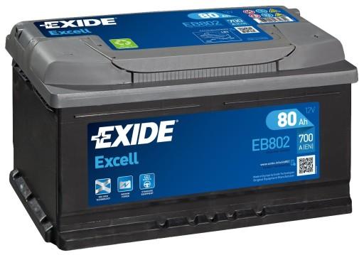 Volvo S 40 diesel  akumulator  EXIDE f.VAT