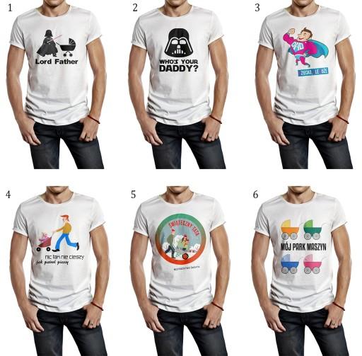 e48747d2c Wyjątkowe koszulki / t-shirty dla taty! NEW! 7687027068 - Allegro.pl