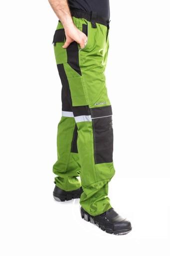 SPODNIE ROBOCZE DO PASA STANMORE 100% BAWEŁNA r 62 10240341652 Odzież Męska Spodnie CA ECXZCA-9