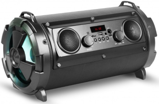 Radio Tuba Bluetooth Boombox Karaoke Wieża MP3 USB