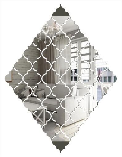 Dekoracyjne Lustro Akrylowe Model Lu107