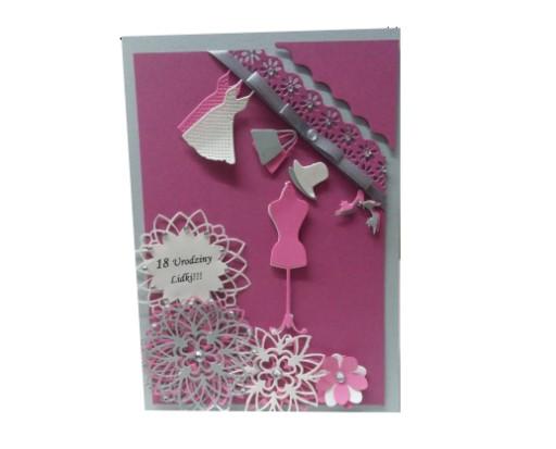 Chwalebne Piękne Kartki XL na Urodziny,18-stkę -SUPER JAKość 7147461652 VY14