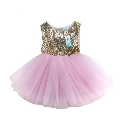 c3916e87c2 Sukienka na wesele urodziny tiul TUTU 68 74 80 86 7499031085 ...