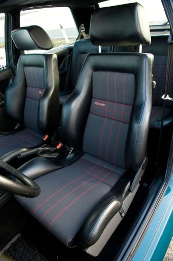 Materiał Foteli Recaro Krata Vw Golf 2 Rally