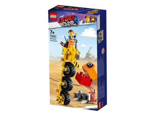 KLOCKI LEGO 70823 MOVIE Trójkołowiec Emmeta