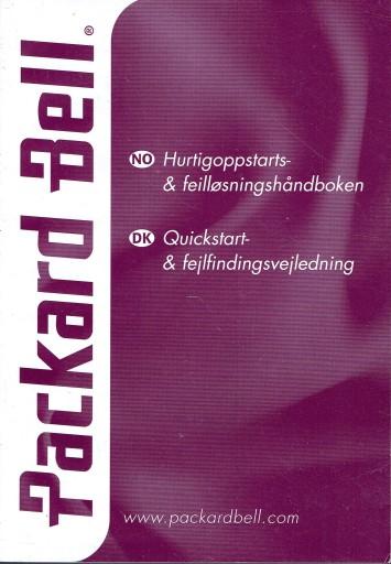 PACKARD BELL norweski / duński INSTRUKCJA OBSŁUGI