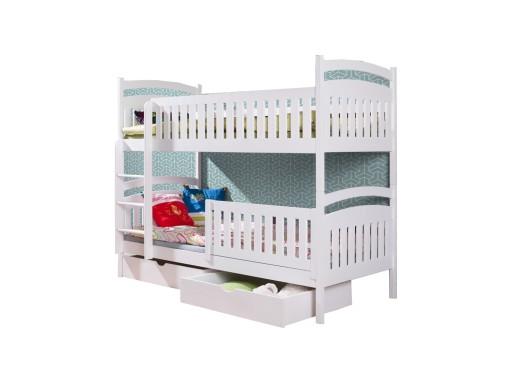 łóżko Piętrowe Dla Dzieci 2 Osobowe Agatka 80x180
