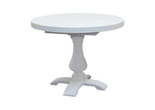 Bardzo dobra Stół Cezary biały okrągły 90 cm Producent 7426662024 - Allegro.pl GO54