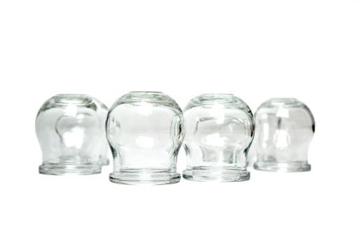 Bańki szklane ogniowe tzw. bańki lekarskie 10szt.