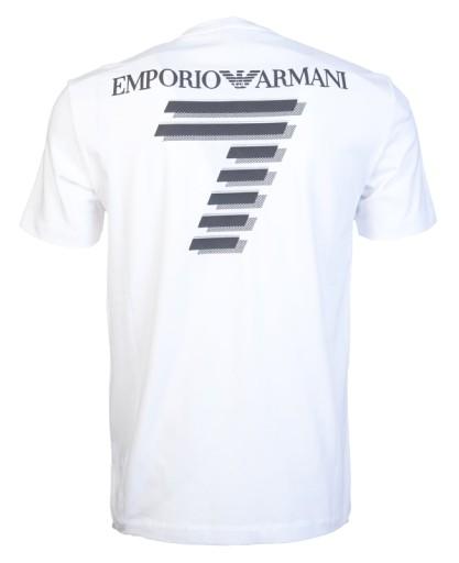 EA7 Emporio Armani koszulka T-Shirt nowość roz: L 10678561296 Odzież Męska T-shirty YL STISYL-7