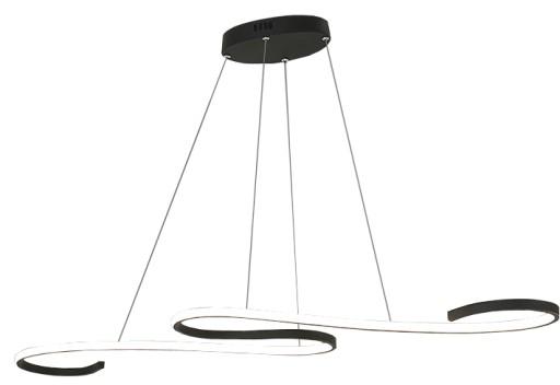 Ogromny Lampa wisząca nad stół żyrandol Kinkiet LED 106cm 7626492203 NI75