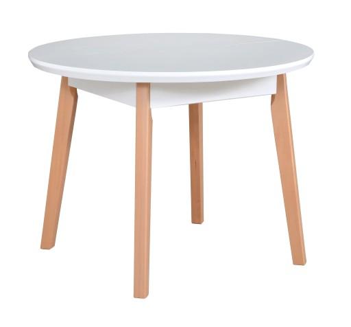 Okrągły Stół Do Kuchni średnica 100 Cm Rozkładany