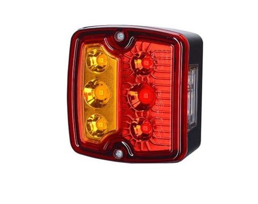 Lampa tylna LED przyczepy lawety diodowa 1224V