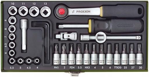 PROXXON Zestaw mechaniki precyzyjnej 1/4 23080
