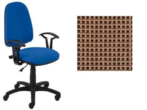 Krzesło Biurowe Młodzieżowe Akord Beżowo Czarny