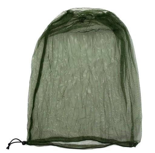 MOSKITIERA siatka maskująca worek siatkowy XL oliv