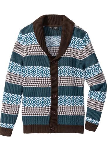 BONPRIX sweter męski bonprix collection r. 48/50 7725794494 Odzież Męska Swetry UD AQASUD-7