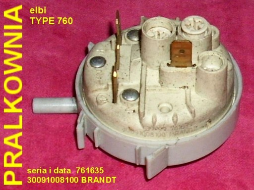 HYDROSTAT ELBI typ 760 761635 (Brandt)
