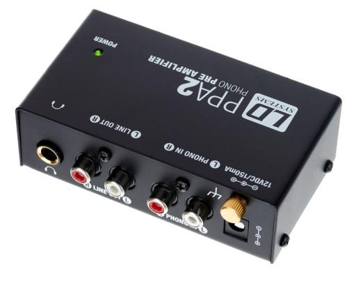 LD Systems PPA 2 - Przedwzmacniacz gramofonowy