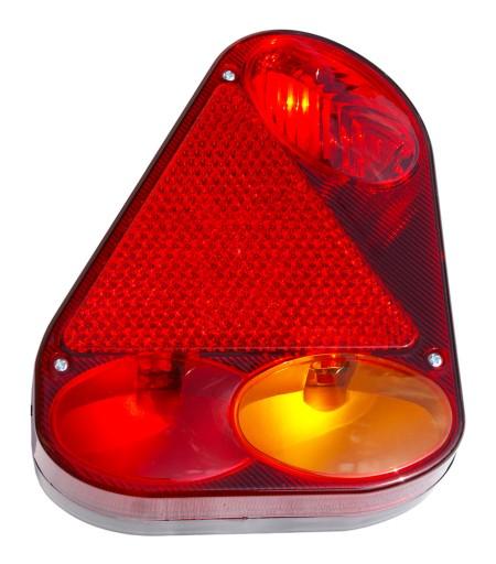 Lampa Tylna Przyczepki Przyczepy Lawety 1224v Le
