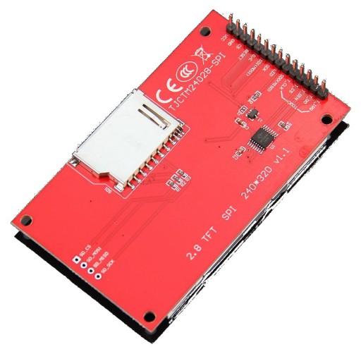 LCD 2 8'' SPI ILI9341 EKRAN DOT  ARDUINO RASPBERRY