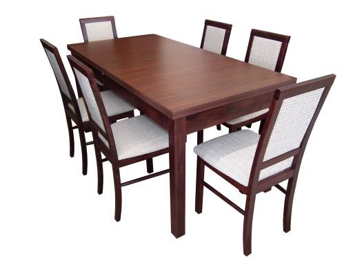 Stoły Krzesła Stół 90x160x200 Krzesło