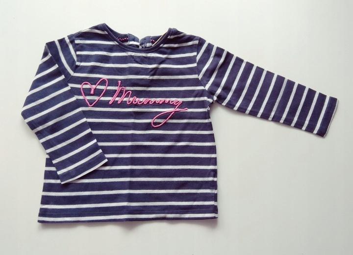 NEXT Bluzka r.80 7765751519 Dziecięce Odzież WU TOXCWU-2