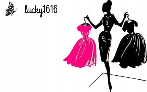 *lucky1616* STYLOWA UROCZA SUKIENKA GROCHY 44-46 7796304625 Odzież Damska Sukienki wieczorowe FY OOHHFY-3