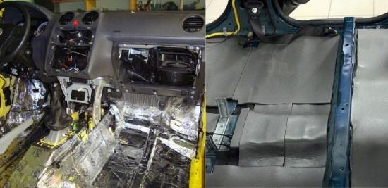 мат обезшумка шумоизоляции капота отсека двигателя, фото 14